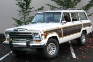 1986 Jeep Wagoneer Grand Wagoneer