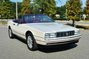 1989 Cadillac Allante Convertible 2-Tops Only 54K Miles! Loaded! Photo