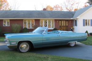 1967 Cadillac DeVille convertable