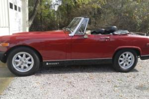 1976 MG Midget 2 seat Sports Car