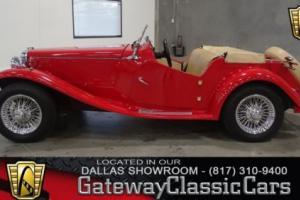 1952 MG TD Replica N/A