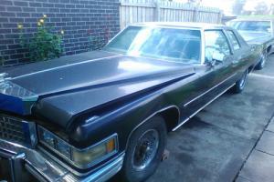 1976 Black Cadillac El Deora Edition