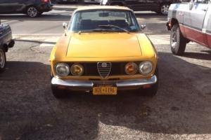 1969 Alfa Romeo GTV Gtv