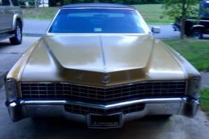 1968 Cadillac Eldorado Personal luxury vehicle Photo