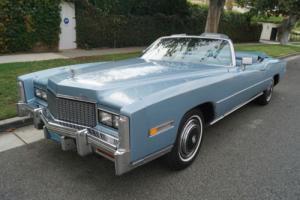 1976 Cadillac Eldorado CONVERTIBLE WITH 46K ORIGINAL MILES!