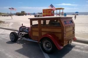 1927 Ford Woodie