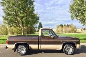 1984 Chevrolet Silverado 1500 1 Owner All Original Short Box Must See Like New