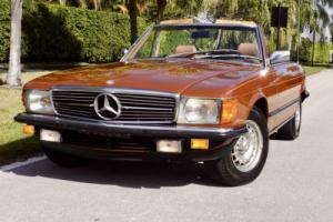 1984 Mercedes-Benz SL-Class 280SL 5 Speed