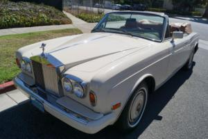 1986 Rolls-Royce Corniche II CONVERTIBLE DROP HEAD COUPE WITH 34K MILES! Photo