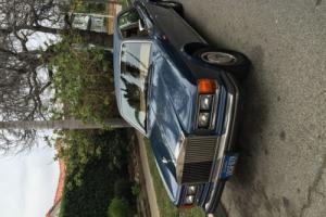 1986 Rolls-Royce Silver Spirit/Spur/Dawn