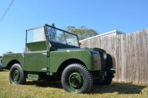 1950 Land Rover Defender Photo