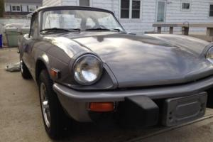 1976 Triumph TR-6 SPITFIRE 1500. NOT A TR6 !!!!!!! Photo