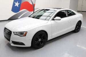 2014 Audi A5 2.0T QUATTRO PREM AWD LEATHER SUNROOF
