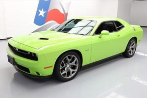 2015 Dodge Challenger R/T HEMI 6-SPEED REAR CAM 20'S