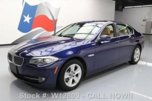 2013 BMW 5-Series 528I XDRIVE AWD HTD SEATS SUNROOF NAV HUD