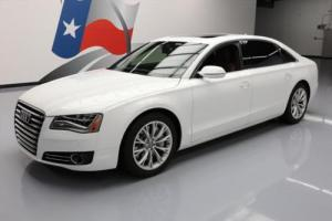2012 Audi A8 L AWD CLIMATE LEATHER SUNROOF NAV
