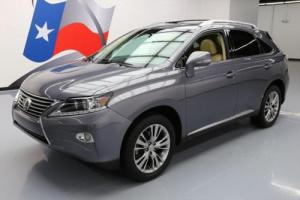 2013 Lexus RX LEATHER SUNROOF BLUETOOTH ALLOYS