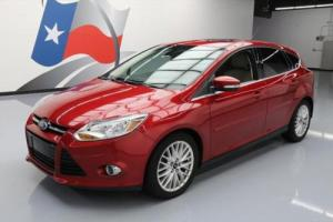 2012 Ford Focus SEL HATCHBACK HTD LEATHER SUNROOF