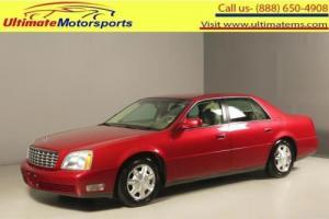 2005 Cadillac DeVille 2005 LEATHER HEAT/COOL-SEAT PARK-ASST WOOD 78K MLS