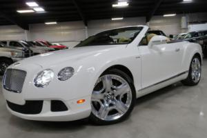 2013 Bentley Continental GT GTC MULLINER