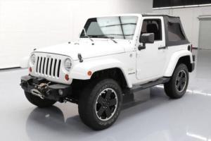 2011 Jeep Wrangler SAHARA 4X4 AUTO SLANT-BACK 18'S