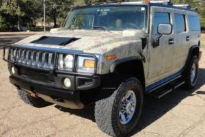 2003 Hummer H2 ADVENTURE PKG MOONROOF CHROME WHEELS CAMO WRAP