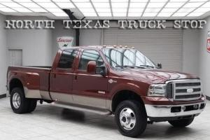 2007 Ford F-350 King Ranch 6.0L FX4 Heated Leather Crew