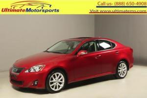 2012 Lexus IS 2012 IS250 AWD SUNROF LEATHER HEATCOOLSEAT 33K MLS
