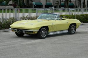 1966 Chevrolet Corvette #S MATCHING 427 BIG BLOCK CONVERTIBLE