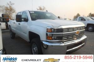 "2016 Chevrolet Silverado 2500 2WD Crew Cab 153.7"" Work Truck Photo"