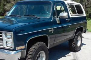 1986 Chevrolet Blazer K-5 Silverado package