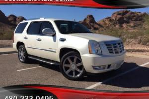 2007 Cadillac Escalade AWD, Diamond White, Quad Seating, Loaded