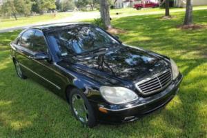 2001 Mercedes-Benz 600-Series