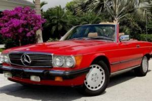 1987 Mercedes-Benz 500-Series 560SL