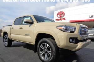 2017 Toyota Tacoma Double Cab 4x4 3.5L Navigation Stick Sport 4WD