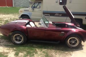 1965 AC Shelby Cobra Replica titled as a 1965 replica