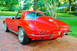 1963 Chevrolet Corvette Split Window 327 4bbl 4-Speed Rare Classic Muscle!