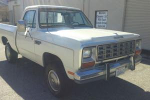 1985 Dodge Power Wagon