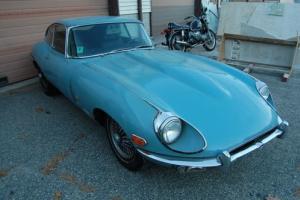 1971 Jaguar E-Type 1owner,#'smatch,no rust,project runs,Rare Blue Photo