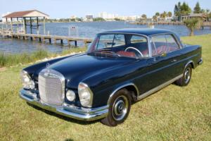 1966 Mercedes-Benz 200-Series Stunning Automatic Sunroof w111 250se Coupe
