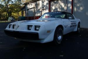 1981 Pontiac Trans Am Indy Pace Car Trans Am