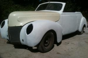 1939 Mercurcy Convertible  PRE WWII  GM 502 500HP Digital Gauges - Ken Endicott