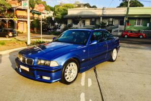 BMW COUPE BLUE SPORTS
