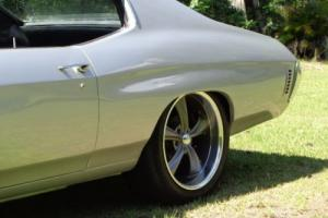 "1972 Chevelle 396 TH400 12 Bolt 20"" rims camaro mustang monaro impala chevrolet"