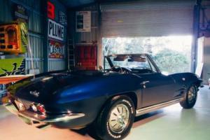 1964 Chevrolet Corvette Stingray Convertible 327ci 365hp 4 Speed Manual L76