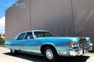 1975 CHRYSLER NEWYORKER BROUGHAM- MOPAR-BIG BLOCK -LOW RIDER -CRUISER-COOL Photo