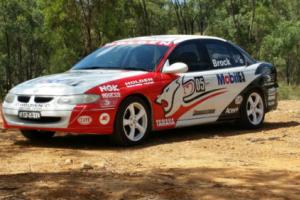 Brock 05,HRT Wrapped,1999 VT Holden Commodore Photo