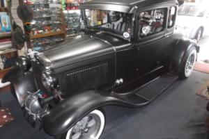 HOT ROD 1930 FORD MODEL A COUPE.ALL STEEL 350/CHEV OLD SKOOL FULLY DETAILED