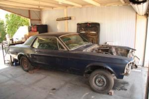 1967 Mustang Hardtop 289ci 2bbl V8 Project Car