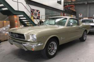 1965 FORD MUSTANG FASTBACK 289 V8 AUTO RARE!!